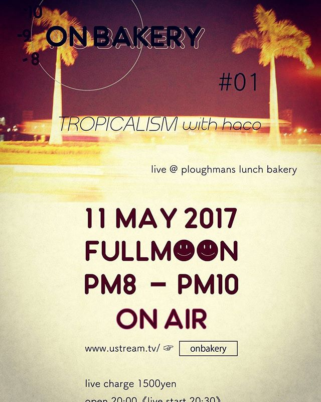 tonight event @ ploughman's#ploughmanslunchbakery #onbakery #parkPark #tropicarism #hacomaco